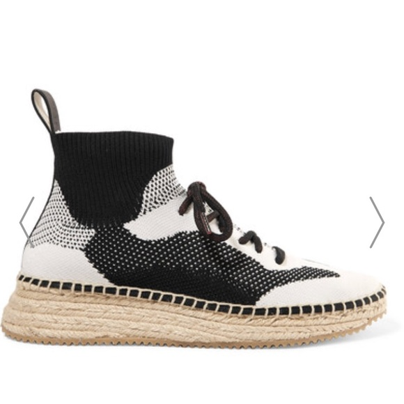 Alexander Wang Dakota Sock Shoes Knit